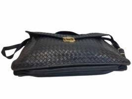BOTTEGA VENETA Intrecciato Business Bag Briefcase Black Leather Braided image 3