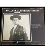 Omaggio A Lawrence Tibbett  #1 And #2 CD - $5.00