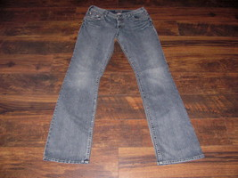 Women's Silver jeans size 32 x 37 Julia Bootcut mid rise thick stitch lo... - $47.49