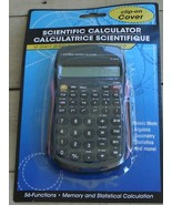 NEW IN PACKAGE Battery Operated Hand Held Scientific Calculator, Pink Ac... - $5.93