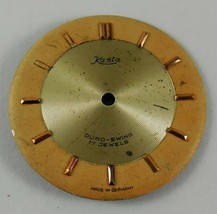 Vintage KASTA DURO SWING Dial Germany 17 JEWELS FROM OLD STOCK NEW DIAL ... - $9.17