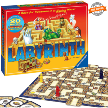 Labyrinth Family Board Game for Kids and Adults Age 7 and Up Easy to Learn Fun - $31.99