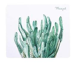 Fashion Creative Home Office Mouse Pad, White Bottom And Cactus - €13,68 EUR