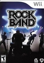 Rock Band (Nintendo Wii, 2008) GAME ONLY - $6.95