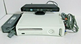Microsoft Xbox 360  Console Kinect Bundle W/ wireless controller  No Hard Drive - $89.09