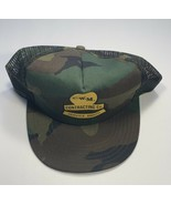 VTG Trucker Hat Camouflage Pattern CW Matthews Contracting Co. Service A... - $31.31