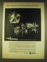 1964 Chrysler Airtemp Air Conditioning Ad - World's Fair House - $14.99