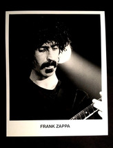 1970'S FRANK ZAPPA ORIGINAL GLOSSY MEDIA PROMO B/W 8X10 INCH PHOTO NO KO... - $20.00
