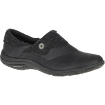 Merrell Womens Dassie Fold Slip On Shoe Black 6.5 #NJPAT-M623 - $79.99