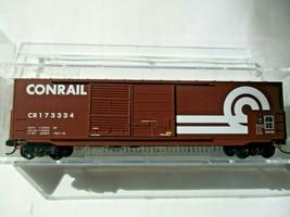 Micro-Trains # 18200120 Conrail 50' Standard Box Car 8' Double Doors N-Scale image 1