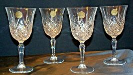 Collections Cristal d'Arques Masquerade Set of 4 Goblets AA19-CD0047 Vintage image 6