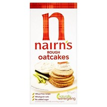 Nairns Rough Oatcakes - 291g Case of 6