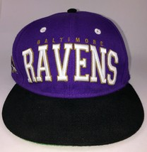 Baltimore Ravens NFL Team Apparel Snapback Hat Cap Purple/Black - $17.81