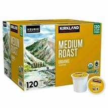 Kirkland Signature Medium Roast Keurig Organic Coffee K-Cup Pods 120 Count 10/21