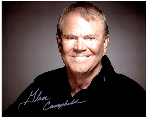 Primary image for GLEN CAMPBELL  Authentic Original SIGNED AUTOGRAPHED PHOTO w/ COA 39009