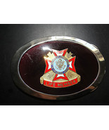 VETERANS OF FOREIGN WARS OF THE UNITED STATES,LIFE MEMBER BELT BUCKLE - $33.24