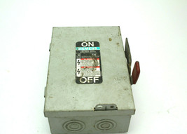 Siemens 30A 240VAC General Duty Enclosed Switch Used - $49.49