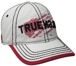 True Religion Men's Premium Vintage Print Baseball Trucker Hat Cap TR1954 image 8