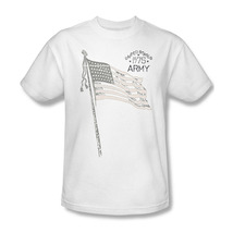 United States Army Graphic T-shirt Retro Design Armed Forces Retro US Flag AR107 image 2