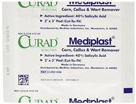 Curad Mediplast Corn, Callus & Wart Remover, 2 pads image 8
