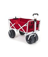 Mac Sports Heavy Duty Collapsible Folding All Terrain Utility Wagon Beac... - $146.23