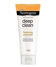 Neutrogena Deep Clean Foaming Cleanser For Normal To Oily Skin, 100 gm - $14.24
