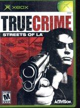 True Crime Streets of L.A. - Microsoft Xbox - $8.50