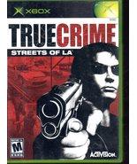 True Crime Streets of L.A. - Microsoft Xbox - $8.95