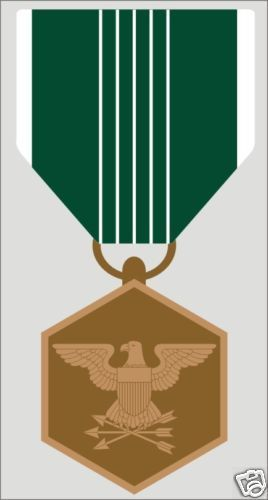 Primary image for ARMY COMMENDATION RIBBON MEDAL  MILITARY WAR  DECAL