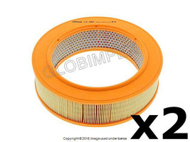 Mercedes w123 (1977-1983) Air Filter (Set of 2) MAHLE +1 YEAR WARRANTY - $48.85