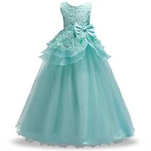 2-14 year Kids Girls Wedding Flower Girl Dress elegant Princess Party Pa... - $34.00
