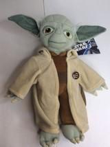 Disney Star Wars Yoda Stuffed Plush Doll BackPack Buddies Bag 15in Free Pin NEW - $22.71