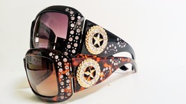 Womens Fashion Rhinestone Sunglasses Cowgirl Star Bling - £7.88 GBP