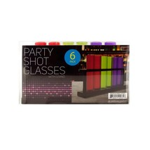Bulk Buys OF985-16 Test Tube Party Shot Glasses with Stand, 16 Piece DAY... - $51.54