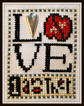 Love 1 Another Love Bits cross stitch chart Hinzeit - $6.00