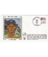 AL LEITER DEBUT NEW YORK YANKEES NEW YORK NY SEPT 15 1987 Z SILK  - $2.98