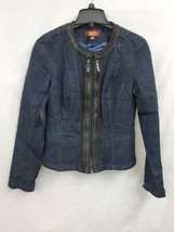 one5one Women's Dark Wash Denim Jacket Size Small NWOT 0175 - $17.35