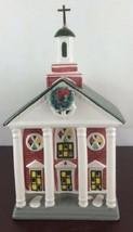 "Vintage 1989 Department 56 Snow Village - ""Colonial Church"" #5119-5 - $19.80"