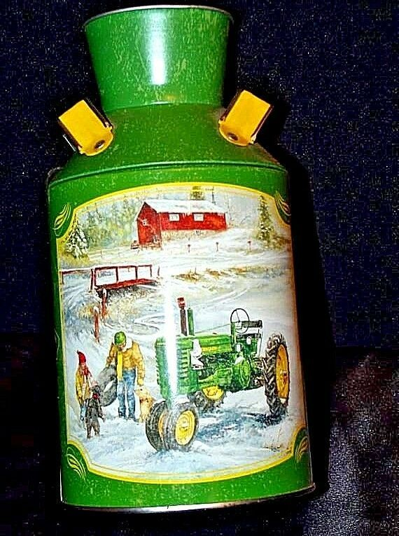 John Deere Miniature Milk Can   AA18-JD0025  2007 U.S.A.