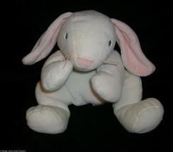 "14"" Ty White Easter Bunny Rabbit Pillow Pals Clover Stuffed Animal Plush 1997 - $14.03"