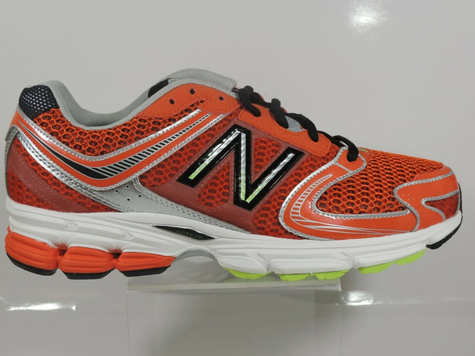 New Balance Men's Shoes M770CT3 Athletic Running Sneakers Red Black Mesh