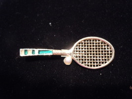 Vintage Gerry's Tennis Racket Pin - $9.99