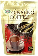 Super Instant Ginseng Coffee 20 Sachets x 20g ( Pack of 3 ) - $34.40