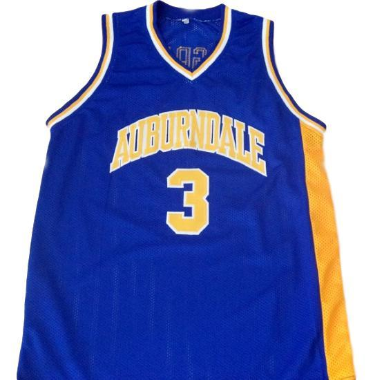 Tracy mcgrady  3 auburndale high school new men basketball jersey blue 1
