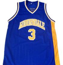 Tracy McGrady #3 Auburndale High School Men Basketball Jersey Blue Any Size image 1