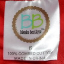 Blanks Boutique Long Sleeve Empire Waist White Ruffle Dress Size 5T image 6