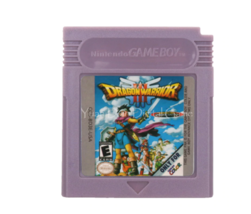 Dragon Warrior III Nintendo Game Boy Color GBC Cartridge - $10.99