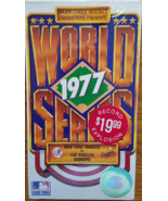 1977 Major League Baseball WORLD SERIES NewYork Yankess v LosAngeles Dod... - $4.95