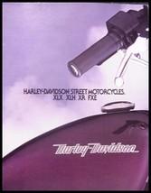 1984 Harley Davidson Brochure, XLX-61 XLH Sportster XR-1000 FXE Super Glide - $16.81