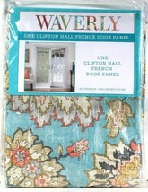 "1 Waverly 26"" Wide X 68"" Long Opal 100% Cotton Clifton Hall French Door ... - $25.99"